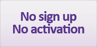 No sign up No activation