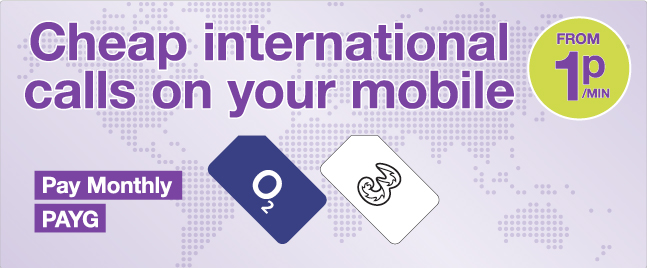 Cheap international calls from your mobile